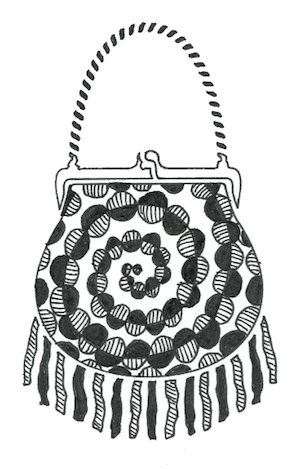 Zentangle purse