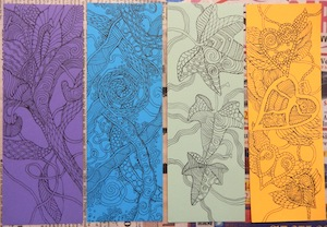Barbara B Zentangle