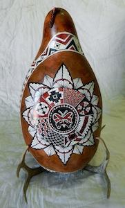 Gourd 5 Mandala
