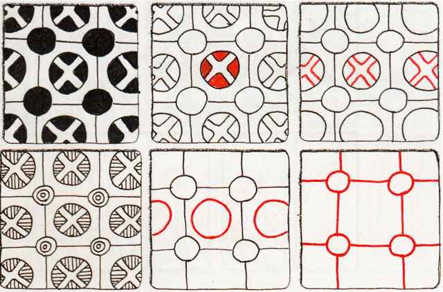 Zentangle patterns BlogSuzanneMcNeill Gorgeous Zentangle Patterns
